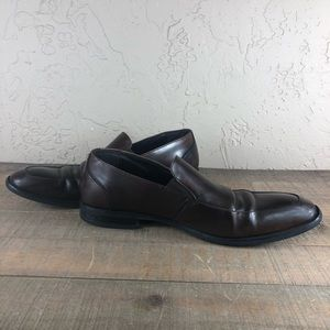 Kenneth Cole hang with me brown loafers